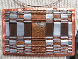 Jan Russell woven necklace