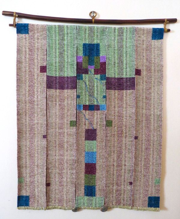 Jan Russell woven tapestry
