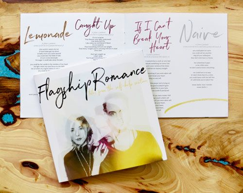 Flagship Romance current album Tales From The Self-Help Section