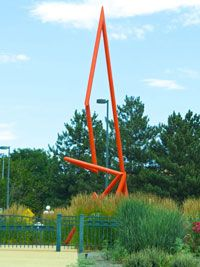 Denver park sculpture