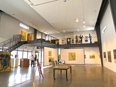 Space Gallery inside