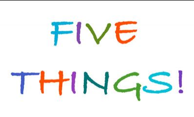 Jump Start!  FIVE Inspirational Things You Can Do Today!